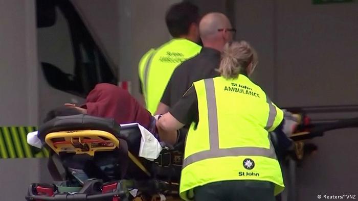Neuseeland Schießerei in Moschee in Christchurch (Reuters/TVNZ)