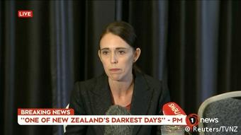 Neuseeland Angriff auf Moscheen in Christchurch | Jacinda Ardern, Premierministerin