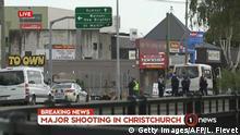 Neuseeland Angriff auf Moscheen in Christchurch