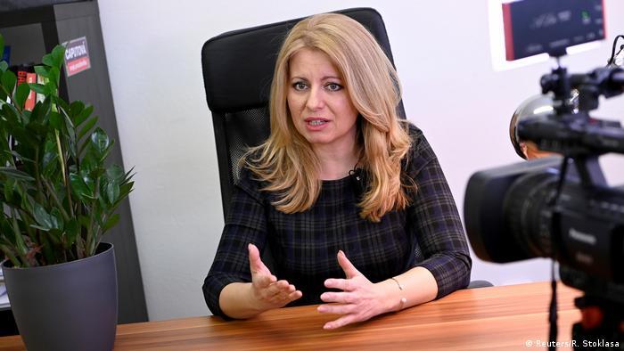 Slowakei Zuzana Caputova, Präsidentschaftskandidatin