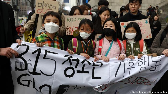 تظاهرات جمعهها برای آینده دانشآموزان در سئول