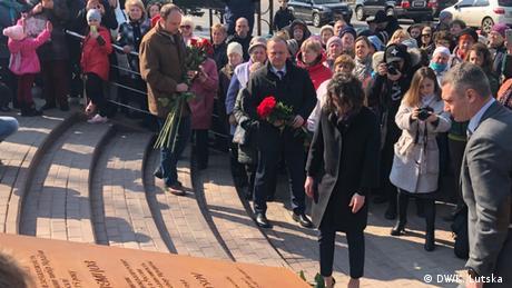 Поруч із посольством РФ у Києві відкрили сквер імені Бориса Нємцова