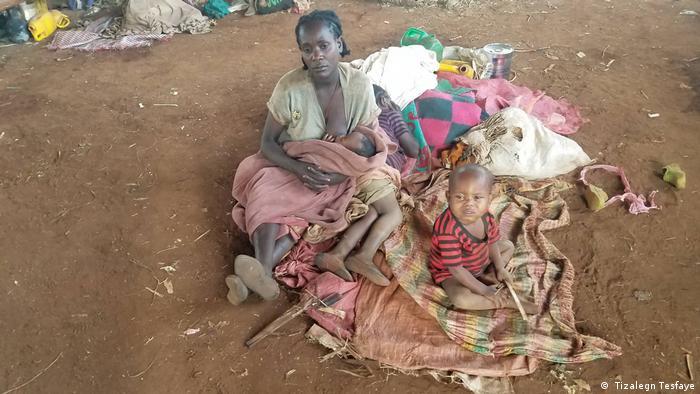 Äthiopien Vertriebene