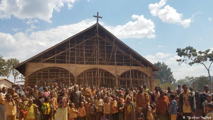 Äthiopien Vertriebene ( Tizalegn Tesfaye)