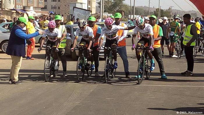 Äthiopien 14. Afrikanische Radsportmeisterschaft in Bahir Dar