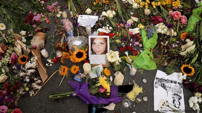 Rechtsextremer Terror USA Charlottesville Heather Heyer Anschlag Trauer