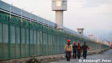 Sincan Uygur Özerk Bölgesi'ndeki kamplardan biri
