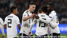 Fußball Länderspiel Deutschland Nationalmannschaft Fußball, Länderspiel, Nationalmannschaft, Saison 2018/2019,UEFA Nations League, GER, Deutschland - NED, Niederlande, Holland,