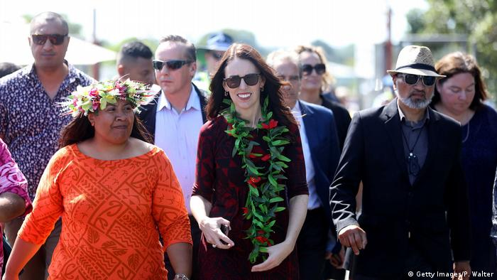 Prime Minister Jacinda Ardern Attends Polyfest (Getty Images/P. Walter)