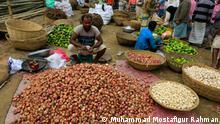 Baishmoja-Markt in Brahmanbaria, Bangladesh