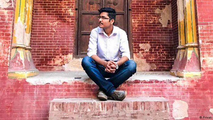 Citizen journalist Anas Saleem (photo: private / Anas Saleem)
