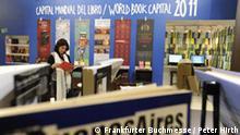 Frankfurter Buchmesse 2009: Argentinien, Gastland 2010 (Foto: Frankfurter Buchmesse / Peter Hirth)