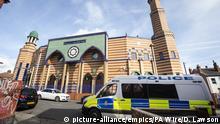 Neuseeland - Polizei vor Moschee