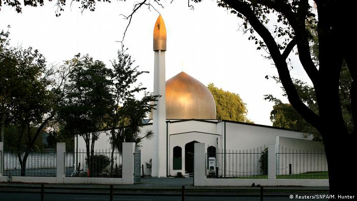 Neuseeland Christchurch - al Noor Mosque (Reuters/SNPA/M. Hunter)