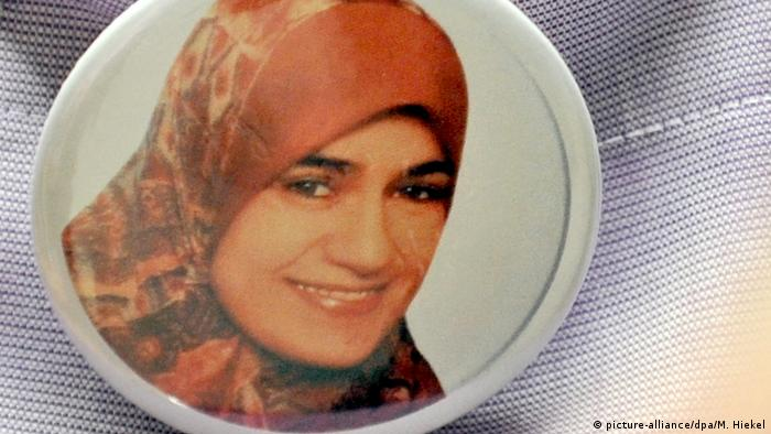 A picture of Marwa El-Sherbini, who was stabbed to death in a court in Dresden, Germany (picture-alliance/dpa/M. Hiekel)