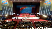 Demokratische Republik Kongo Parlament in Kinshasa