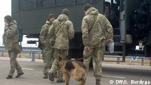 Ukraine Krim Grenzkontrollen