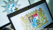 Deutschland Symbolbild Polizei München