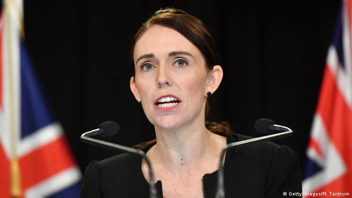 Neuseeland | Anschlag von Christchurch | Jacinda Ardern (Getty Images/M. Tantrum)