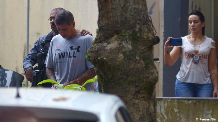 Ronnie Lessa foi detido na terça-feira