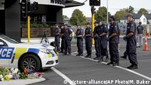 Neuseeland | Anschlag von Christchurch | Polizei durchsucht Gegend um Moschee