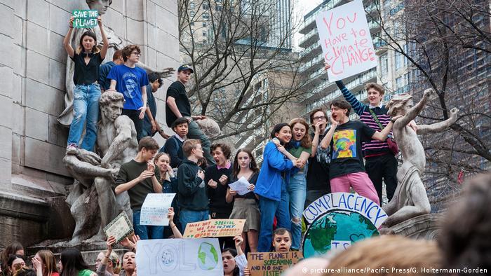 USA Schüler protestieren für Klima
