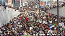 Kanada Schüler protestieren fürs Klima