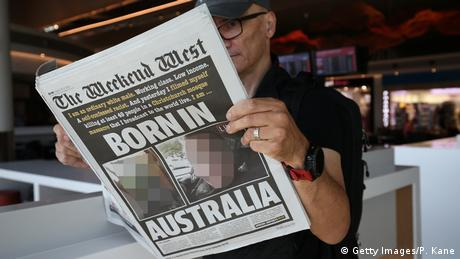 Australien Pressestimmen Christchurch Terroranschlag (Getty Images/P. Kane)