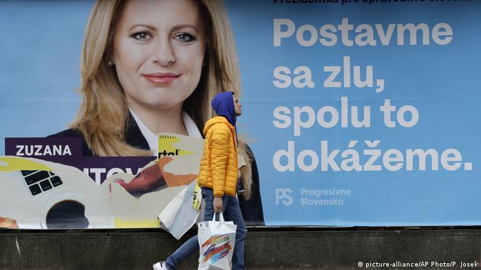 Čaputova smatra da je njezin izbor izraz čežnje slovačkih građana za promjene