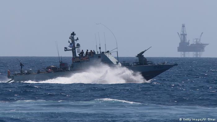 نیروی دریایی اسرائیل و حفاظت از پلاتفرم گاز طبیعی در دریای مدیترانه