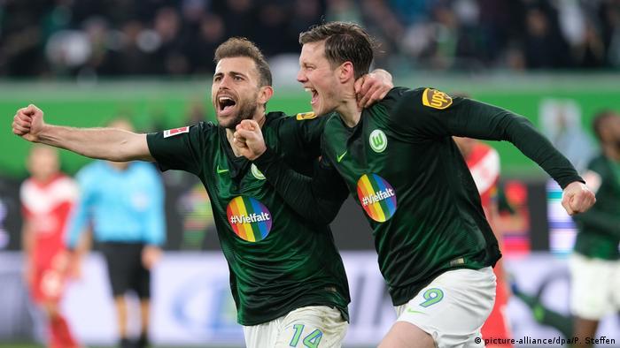 Fußball Bundesliga VfL Wolfsburg - Fortuna Düsseldorf (picture-alliance/dpa/P. Steffen)
