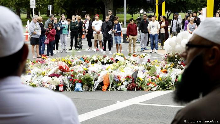 Terroranschlag Neuseeland Trauer Christchurch (picture-alliance/dpa)