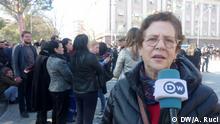 Protest Opposition Albanien Tirana