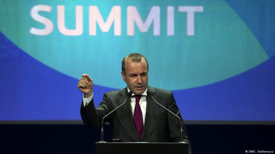 Manfred Weber  Europa e paplotë pa  Ballkanin
