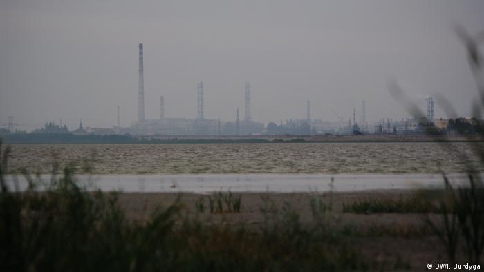 Завод Крымский титан