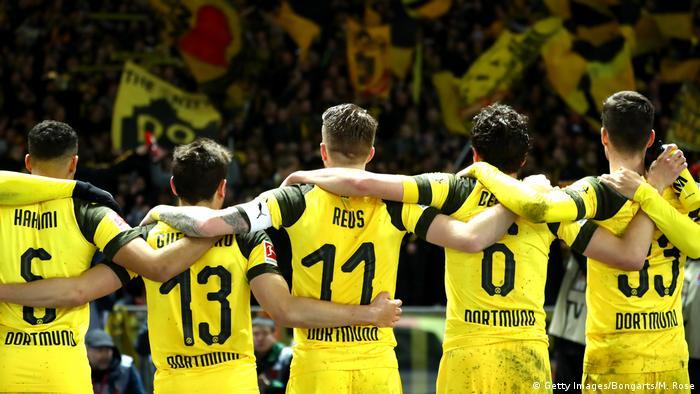 Fußball Bundesliga Hertha BSC- Borussia Dortmund (Getty Images/Bongarts/M. Rose)