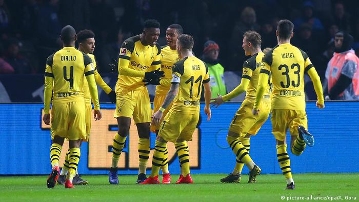 Fußball Bundesliga Hertha BSC- Borussia Dortmund