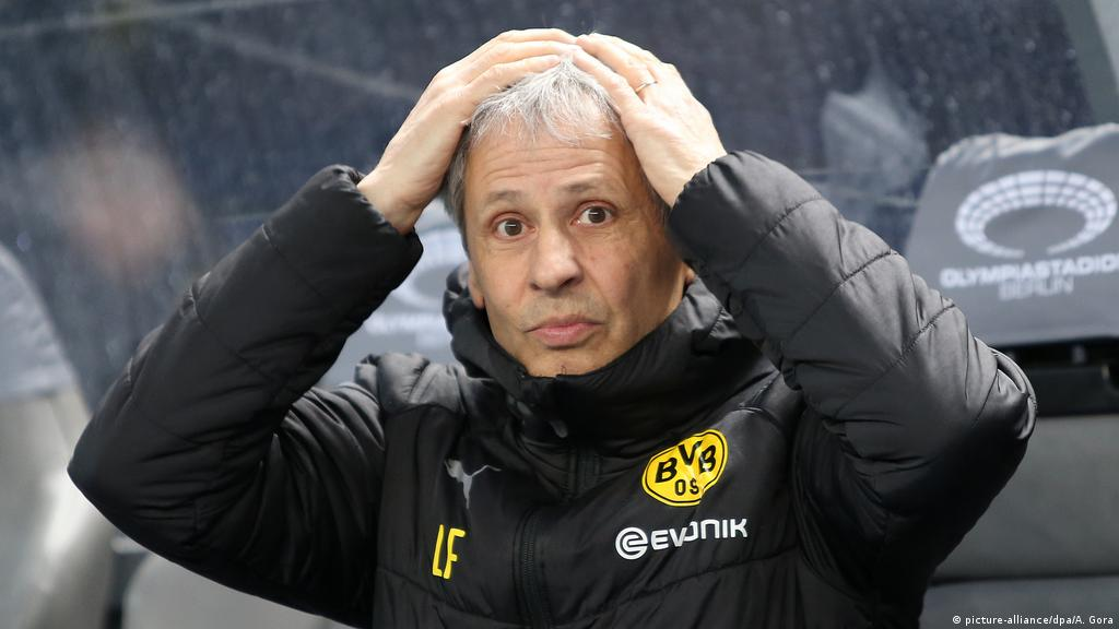 Champions League: The issues that may cost Borussia Dortmund coach Lucien  Favre his job | Sports| German football and major international sports news  | DW | 26.11.2019