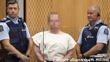 Christchurch Terroranschlag Anhörung Täter