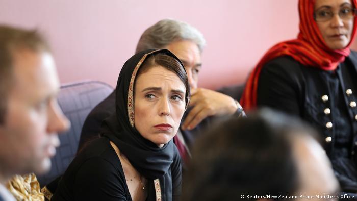 Christchurch Terroranschlag Jacinda Ardern treffen mit Muslimen (Reuters/New Zealand Prime Minister's Office)