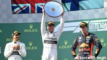 Australien Grand Prix Siegerehrung Bottas (Reuters/J. Smith)