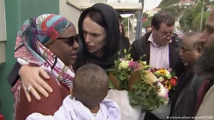 Nach Anschlag auf Moscheen in Neuseeland | Jacinda Ardern