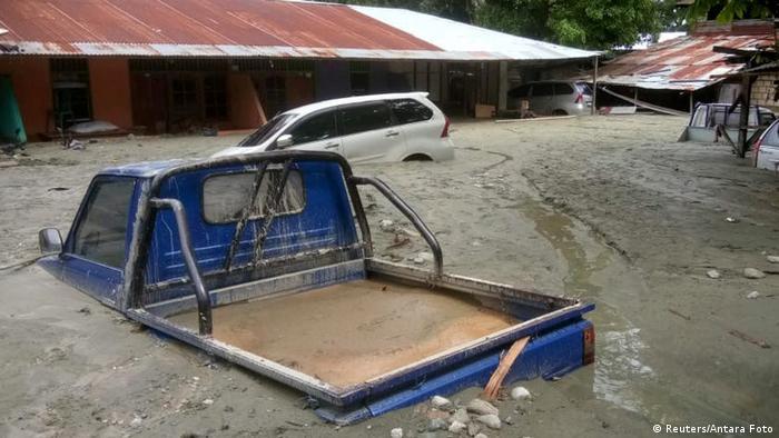 Indonesien Überflutungen bei Sentani (Reuters/Antara Foto)