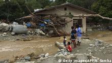 Indonesien Überflutungen bei Sentani