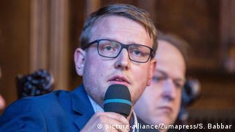 Matthias Quent deutscher Soziologe und Rechtsextremismusforscher (picture-alliance/Zumapress/S. Babbar)