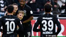Fußball Bundesliga Eintracht Frankfurt - 1. FC Nürnberg