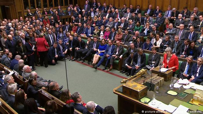 Großbritannien London Parlament Brexit (picture-alliance/dpa/House Of Commons)