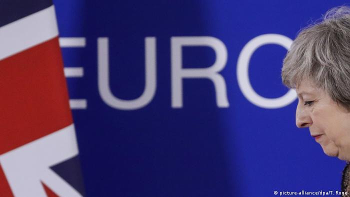 Brüssel Großbritannien Brexit Theresa May