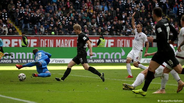 Fußball Bundesliga Eintracht Frankfurt - 1. FC Nürnberg (Imago/Nordphoto)
