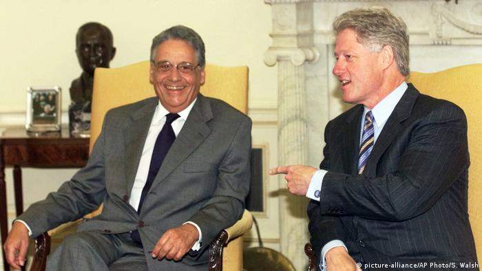 Bill Clinton e Fernando Cardoso